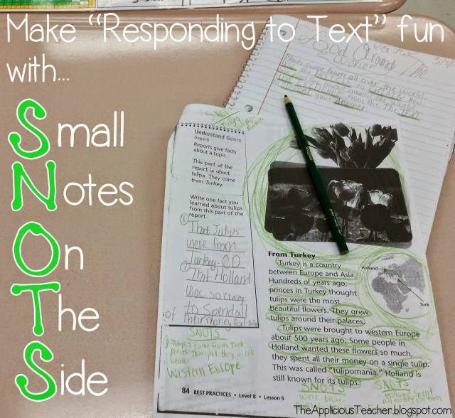 Strategey for students to annotate text using SNOTS- Text marking using SNOTS