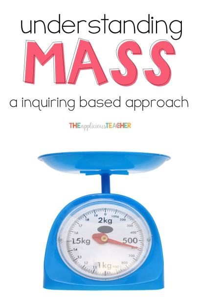 Help students better understand how to measure mass through these guided exploration ideas! Love that she split her class into teams!