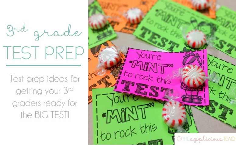3rd grade test prep-theappliciousteacher.com