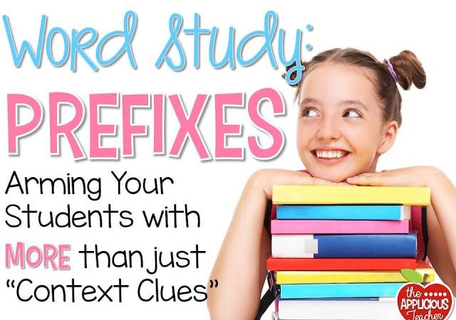 Prefix Word Study