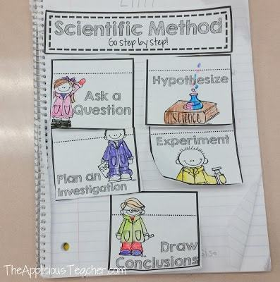 scientific method ISN freebie