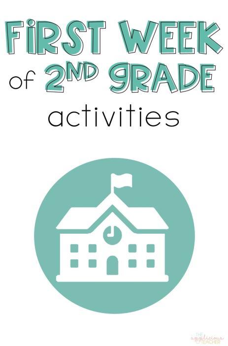 First week of 2nd grade activities- love all these first week of school reading and math ideas! TheAppliciousTeacher.com #backtoschool #2ndgrade #firstweekofschool