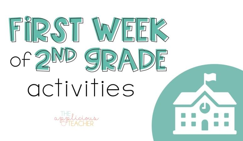 First Week of 2nd Grade Activities and Ideas