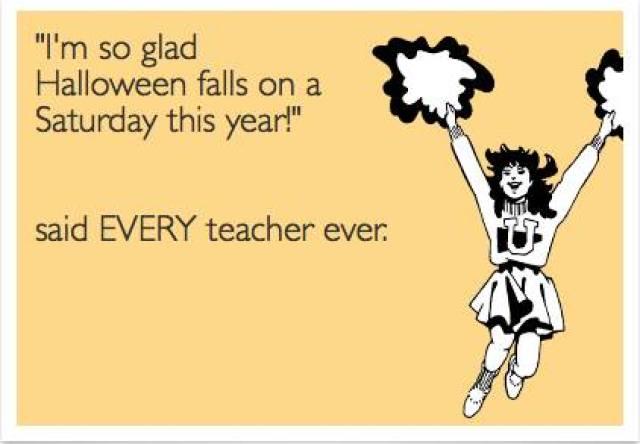 Teacher halloween Meme
