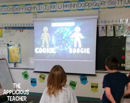 Cookie boogie brain break- perfect for a gingerbread man unit!