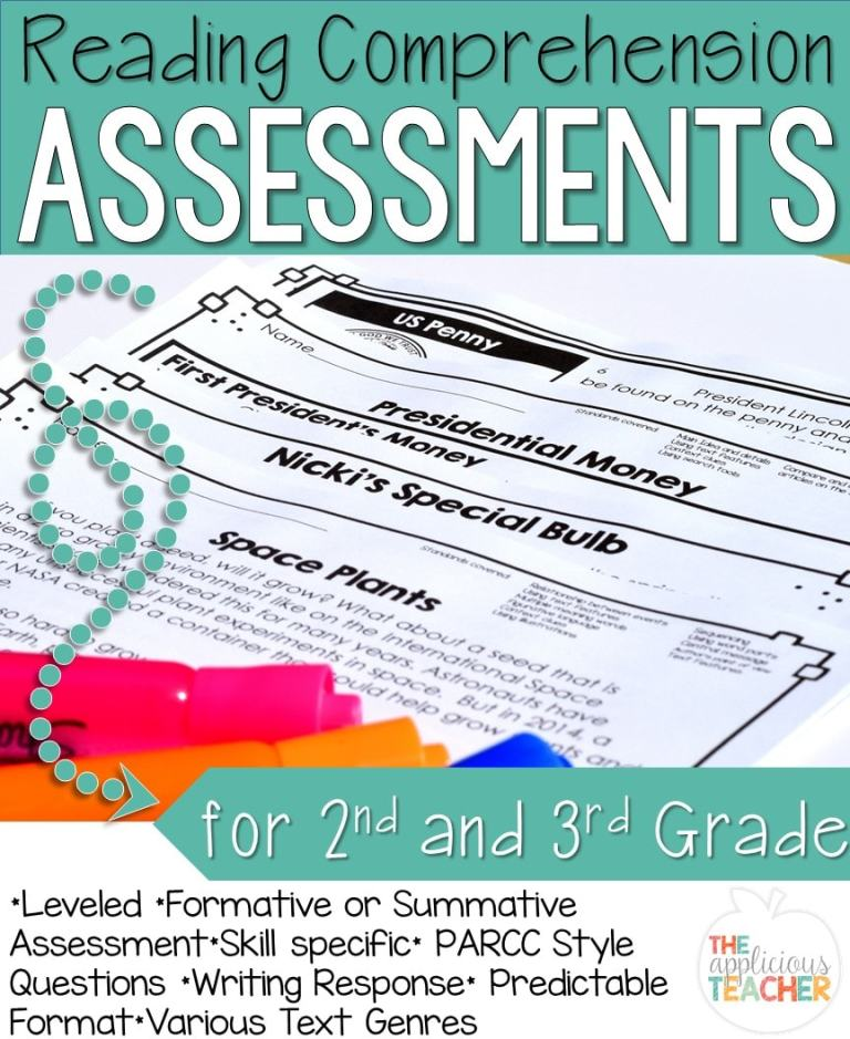 reading assessments for 2nd 3rd grade