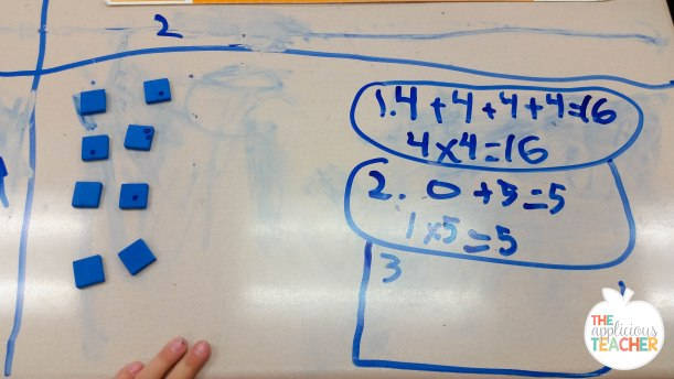 using arrays to teach multiplication