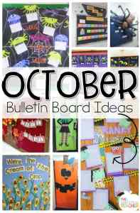 10 Best October Bulletin Boards. Love these fun bulletin boards and door ideas!
