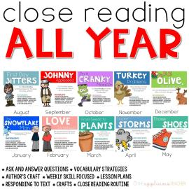 Close Reading All Year