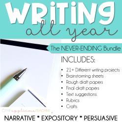 Writing All Year Bundle
