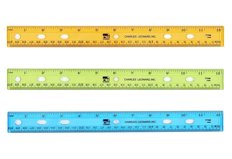 having a class set of rulers is a must for a successful hands on approach to measurement