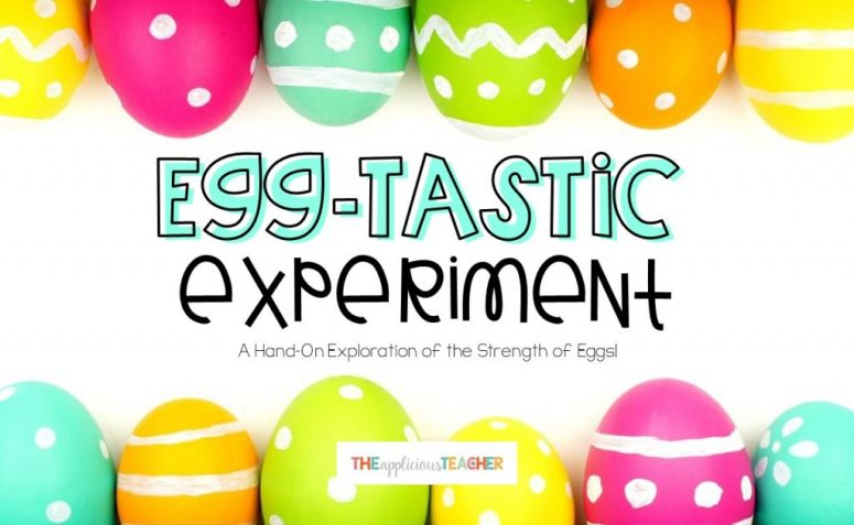 Egg experiment perfect for around Easter!