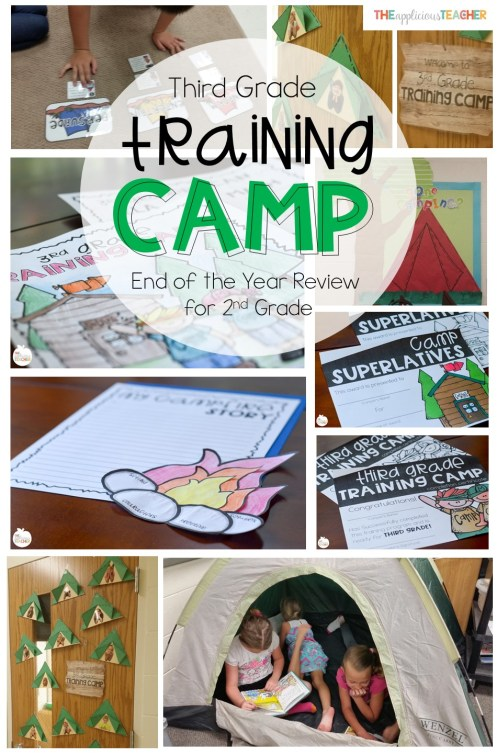 Not sure how to end the year in 2nd grade? Send your students to Third Grade Training Camp