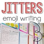 "Great back to school writing activity for the first day! After reading the book, ""First Day Jitters"", students write about how they felt on the first day of school using emojis!"
