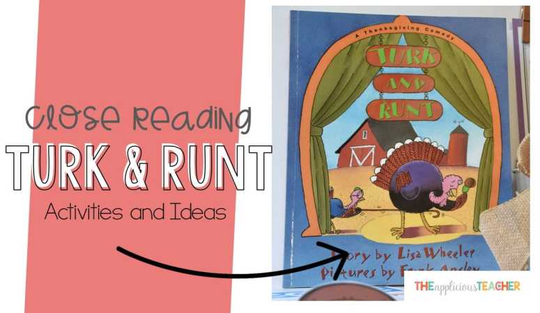 Turk and Runt Close Reading Activities