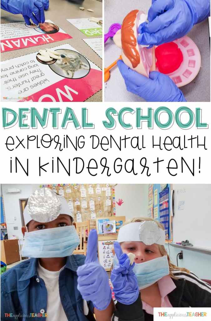 Dental School in Kindergarten- Help students learn about Dental Health with this fun classroom transformation- The Applicious Teacher