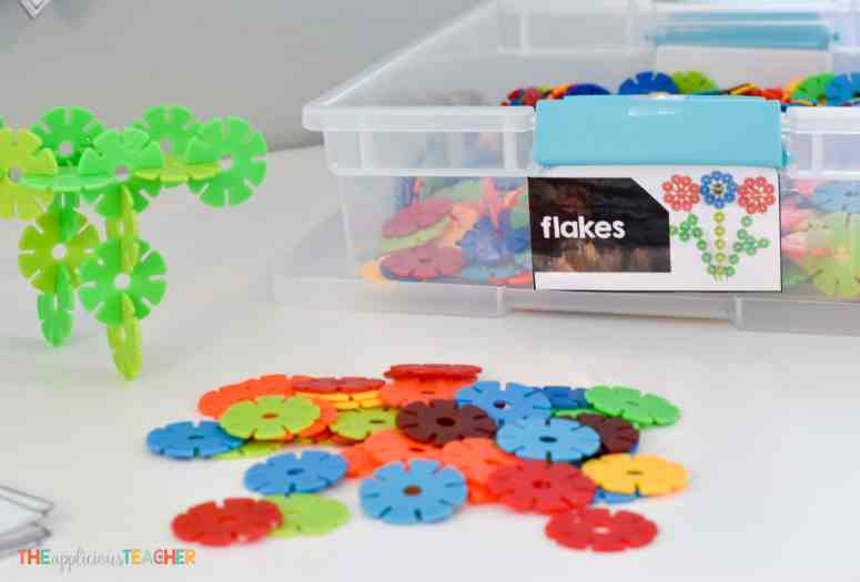 Classroom STEM Lab tub labels- TheAppliciousTeacher.com