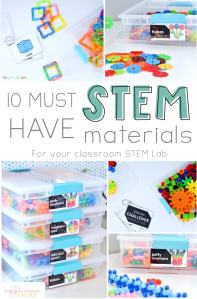 10 Must Have STEM materials for every classroom-TheAppliciousTeacher.com