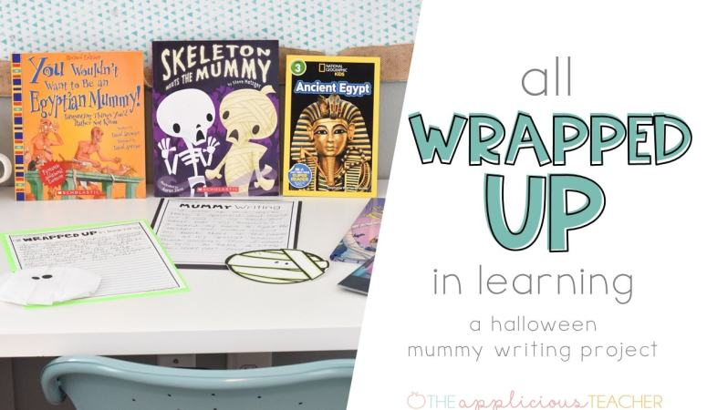 Halloween Mummy Writing Activity