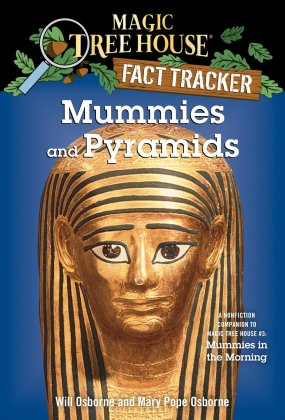 Magic Treehouse Fact Tracker Mummies and Pyramids- Mummy books for kids
