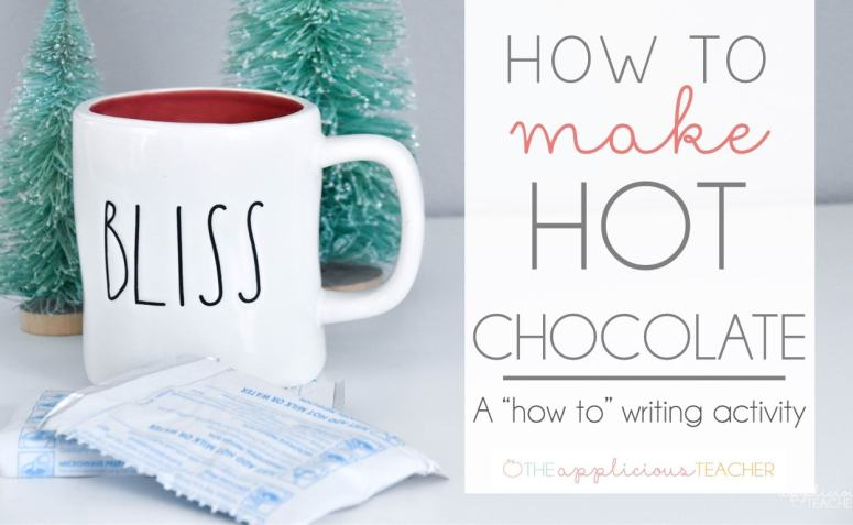 How to Writing: How to Make Hot Chocolate Activity and Craft