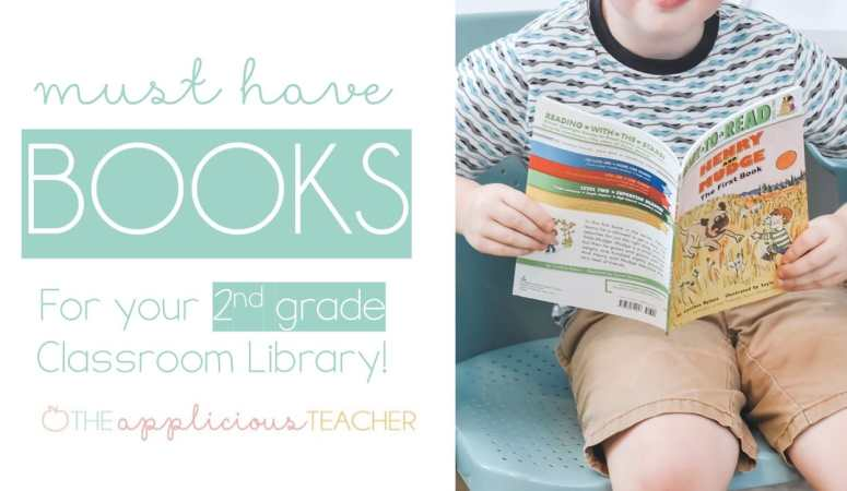 Chapter Books Perfect for 2nd Grade