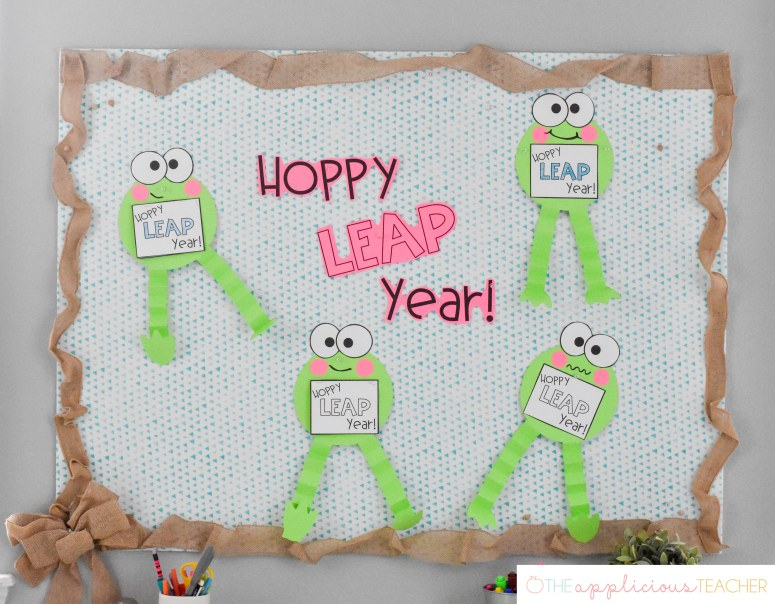 Leap Day bulletin board
