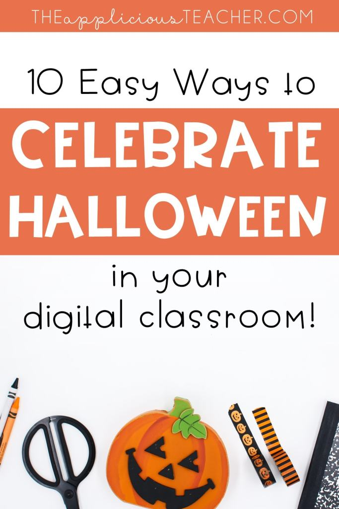 Digital ideas for celebrating Halloween