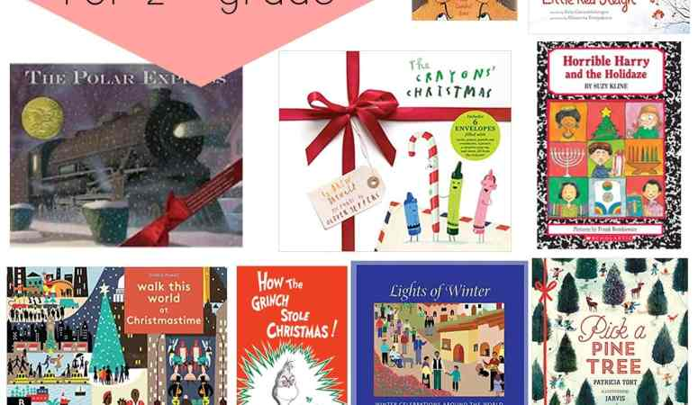 Favorite 2nd Grade Books to Read in December