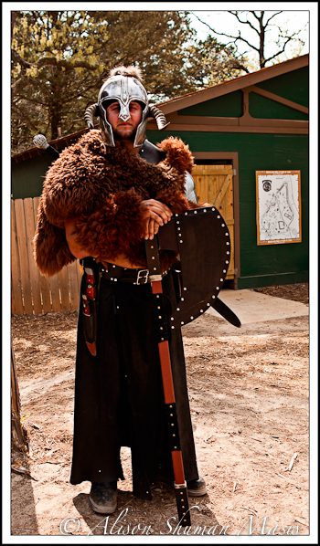 Texas Ren Faire Medieval Action at the Sherwood Forest Faire