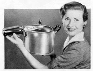 Retro pressure cooker