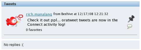 OraTweet web app