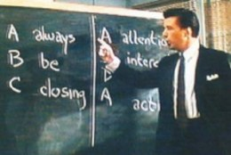 Alec Baldwin in Glengarry Glen Ross