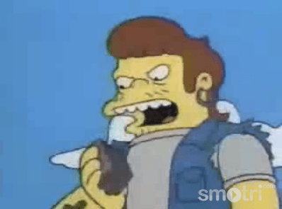 The Wallet Inspector (I can't believe that worked!) from Simpsons Episode 503
