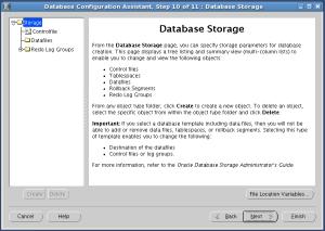 DB storage