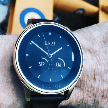 Vector Watch: Fit executive meets fashion.