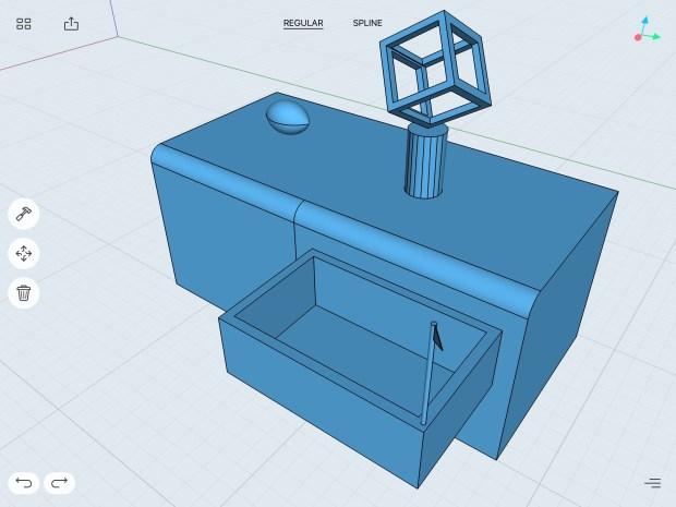 A 3D Doodle using Shapr3D