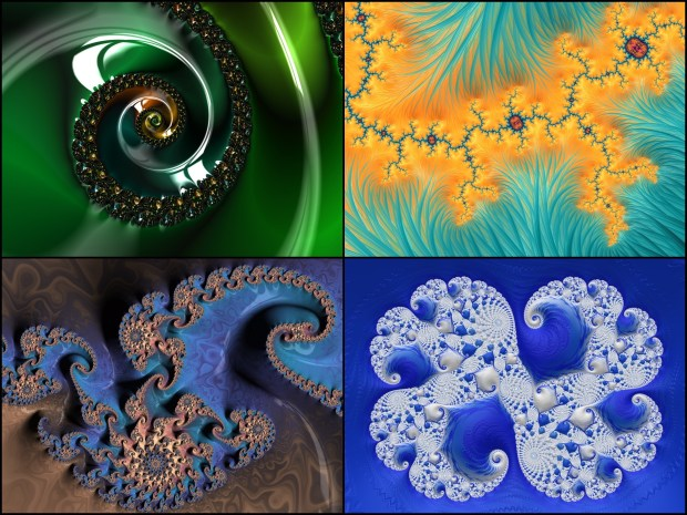 Fractals generated by Frax HD