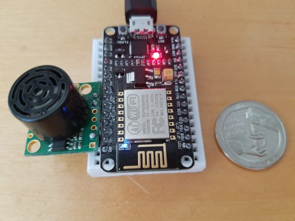 NodeMCU with Sonar
