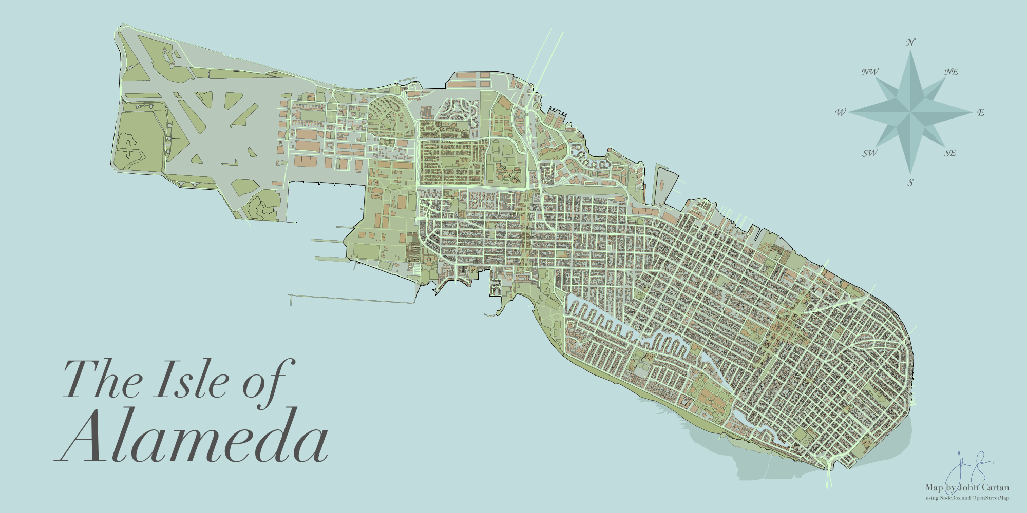The Isle of Alameda The AppsLab