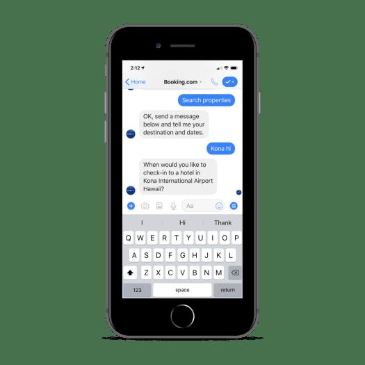 Chatbot de réservation
