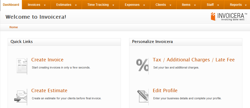 Create and Manage Invoices
