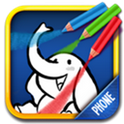 Color & Draw for kids phone