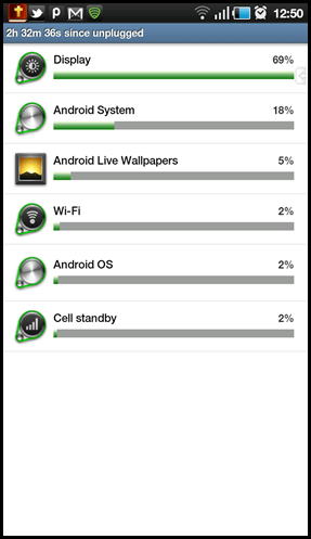 how to optimize the battery life of android tablets