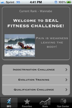 seal fitness challenge 2