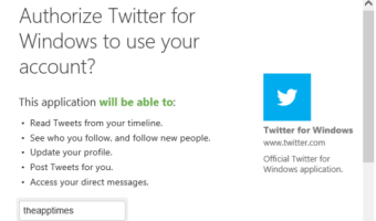 Twitter App for Windows 8 arrives but is it Good Enough to Use?