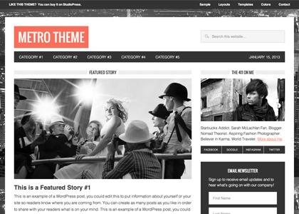 metro studiopress themes