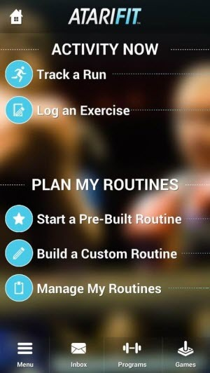 fun fitness app - atari-fit