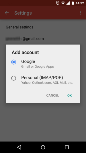 Get More Done with Android - email accounts