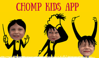 CHOMP the Fun Animation App for Kids is Out on iOS